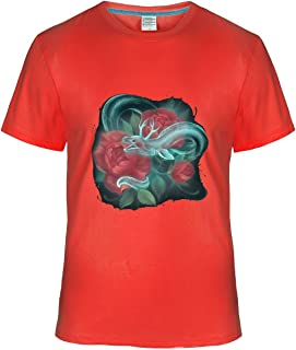 Fatal Decision Men's Ghost Eel and Roses Hobby T-Shirt