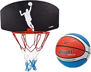 Indoor Outdoor Game Play Set for Kids Youth RecoverLOVE Updated Portable Height Adjustable Basketball Hoop Backboard Basketball Stand