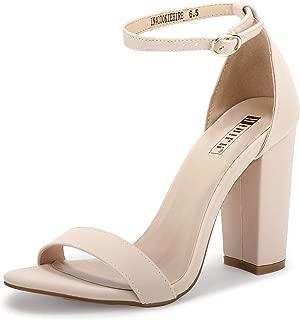IDIFU Women's Beaded Wedge Sandals Shoes