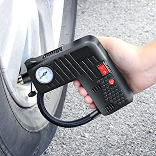 Automatic Cordless Digital Tyre Inflator for Car Bicycles Motorcycle Tires Balls Swimming Rings Balloon Toys Inflatable Gizayen Air Compressor Portable Mini Inflator Smart Wireless Air Tyre Pump
