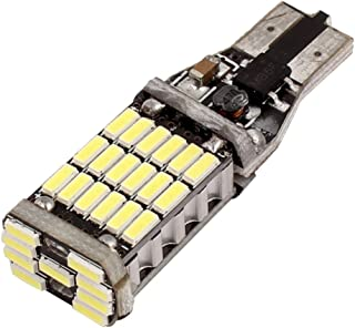 Aexit DC (Lighting fixtures and controls) 12V High Power T15 White 4014 45LEDs Lights Bulbs for Reversing Light (14ry183qf...