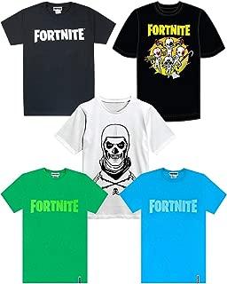 Vanilla Underground Fortnite Official Logo Boys T-Shirt's Kids Battle Royale Gaming Tee