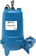 Goulds Water Technology 1 HP Manual Submersible Sewage Pump, 230 Voltage, 152 GPM of Water @ 15 Ft. of Head - WS1012BF