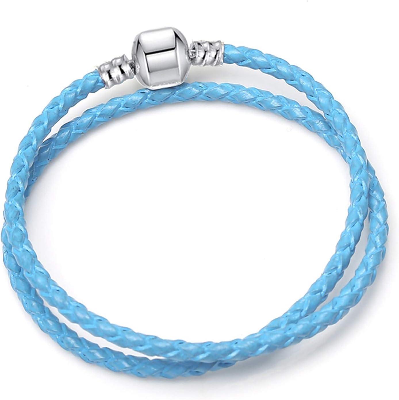 WANGJINQIAO Charm Bracelet Cute Mouse Snake Chain Basic Bra Weekly update fine Max 84% OFF