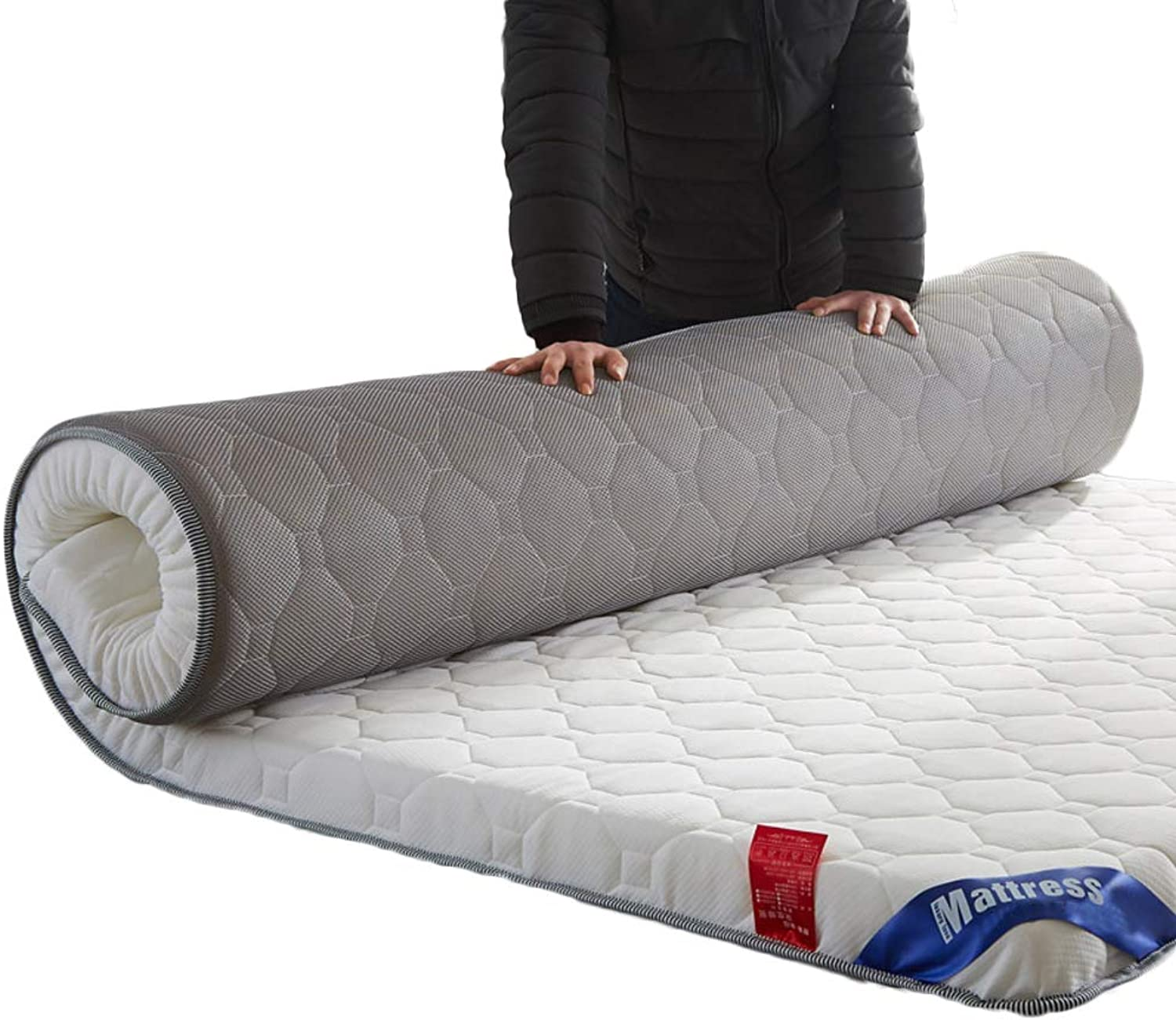 Comfort Quilted Foam Mattress Breathable, Ergonomic Folding Mattress Thick Anti-mite-H 120x200cm H 6cm