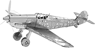 Fascinations Metal Earth Messerschmitt Bf-109 Airplane 3D Metal Model Kit