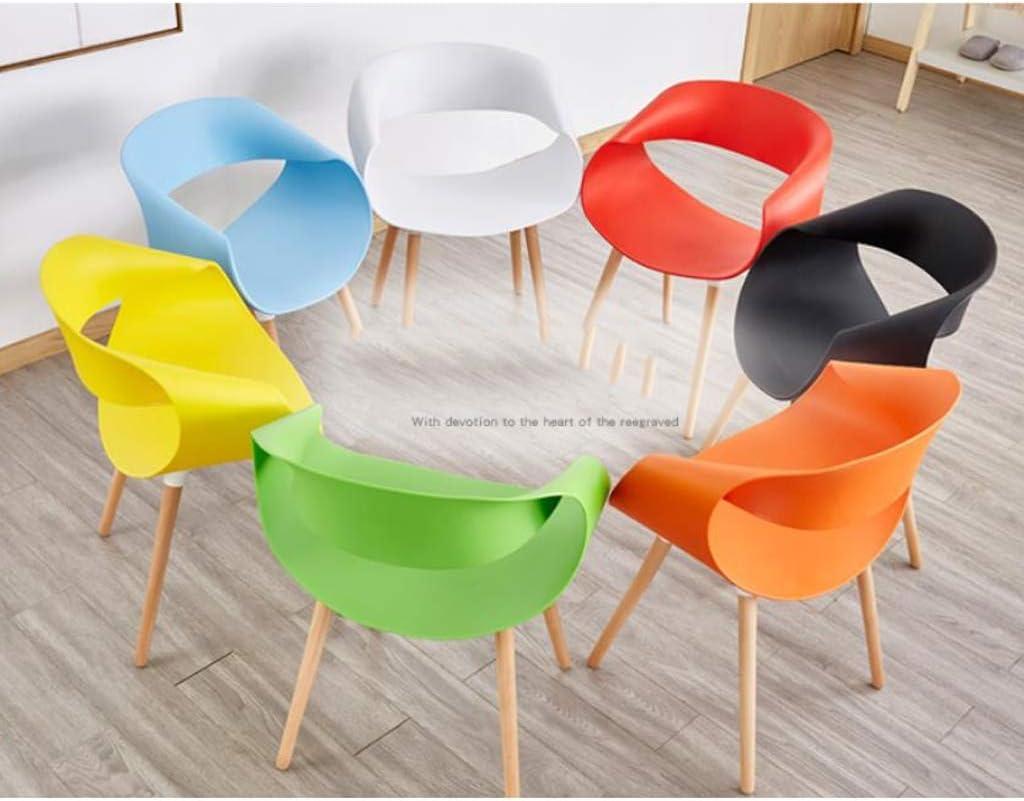 Stable Simple chaise bureau étudiant et chaise de maquillage tabouret retour à la maison à manger chaise d'ordinateur Gratuit (Color : Red) Blue