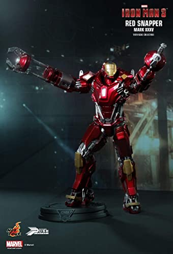 Hot Toys PPS002 - Marvel Comics - Iron Man 3 - rot Snapper Mark XXXV 1 6 - Officiel