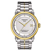 Deals on TISSOT Luxury Automatic Silver Dial Men's Watch