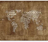 壁画壁壁画写真3D現代国名世界地図-250x175CM