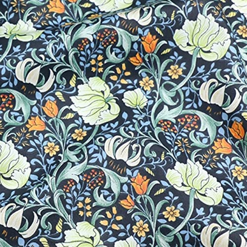 555TEAM Floral supreme 100% Cotton Fabric safety Making ClothesDress Sewing for