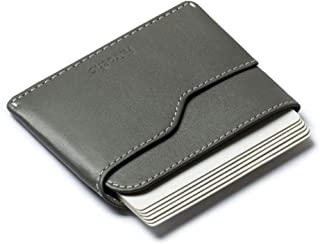 Slim Cardholder Front Pocket Wallet Full Grain Cow Leather Card Cash, For Men Women – Nano By Aurochs