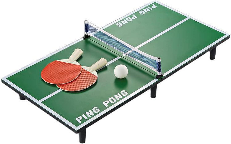 Mesa De Ping-Pong Plegable Pequeña para Niños/Adultos, Juegos De Tenis De Mesa Interactivos para Padres E Hijos Familiares (Size : 60x30x6.5cm)