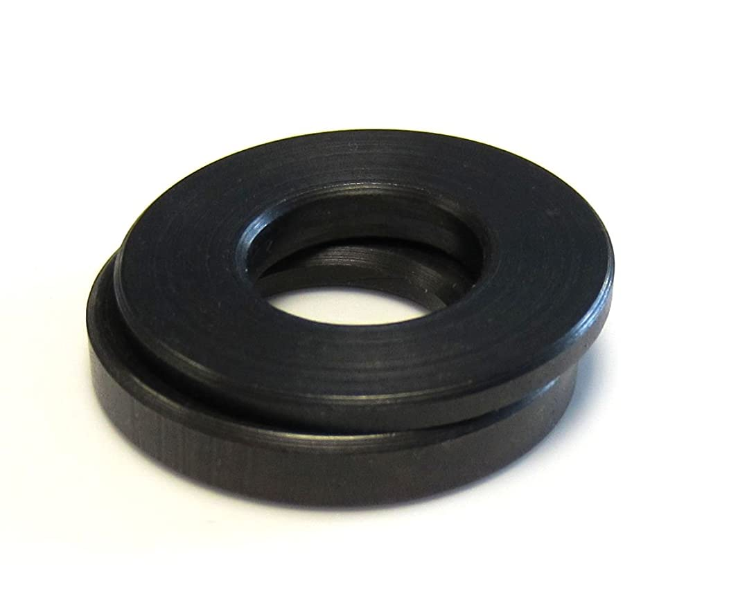 Morton Low Carbon Steel Spherical Washer Sets, Equalizing Washers, Inch Size, 3/8
