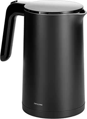 Zwilling Enfinigy Cool Touch Electric Kettle, Cordless Tea Kettle & Hot Water, 1.5L, 1500W, Black