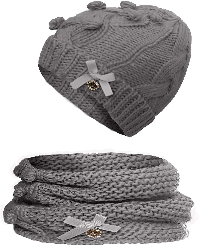 Scaldacollo Bambina GIAN Marco Venturi Art.71854 Set Cappello