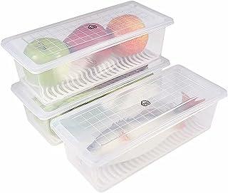 77L Recipiente de almacenamiento de alimentos de plástico,