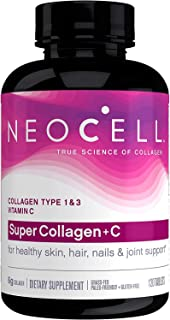 Neocell, Super Collagen C, Type 1 & 3, 6,000 Mg, 120 Tablets
