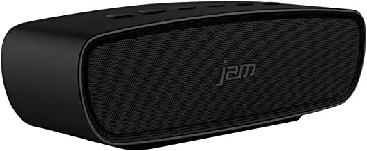 Jam Audio Heavy Metal Stereo Bluetooth Wireless Speaker, tragbare kabellose Lautsprecher Box mit 20W für klaren Sound, ele...