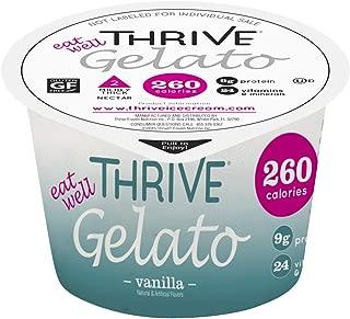 Thrive Frozen Nutrition, Vanilla Gelato, 4 oz Cups (36 count)