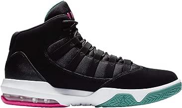 Jordan Nike Men's Max Aura Leather Basketball Shoes