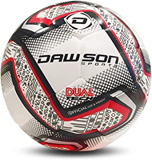 DAWSON SPORTS Unisex Adult 80045 - MISSION Football Red Color - Size 5 - Mission (80045) - Multicoloured, 5