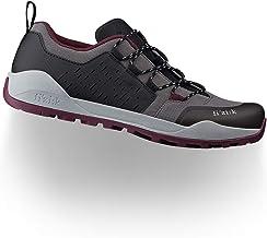 حذاء رجالي من Fizik مطبوع عليه Terra Ergolace X2 Mountain Trail لركوب الدراجات - لون أنثراسي/عنابي