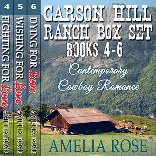 Carson Hill Ranch Box Set audiobook cover art