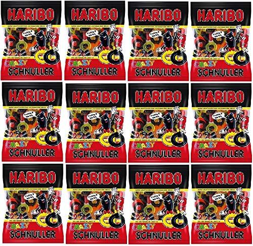 12 Tüten Haribo Crazy Schnuller a 200g (12x200g)