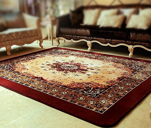 Soggiorno Camera Tavolino Tappeto Pastorale elegante Tavolino tappeto cinese Vento Camera scendiletto