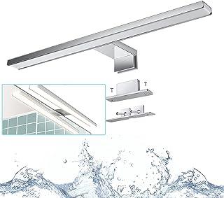 Applique Miroir Salle de Bain, Wowatt Lampe Miroir Étanche IP44 Blanc Neutre 4000K Luminaire Salle de Bain 8w 640lm Éclair...