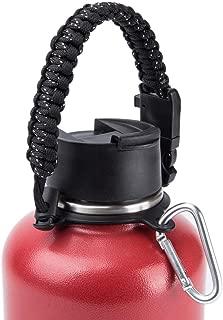 water bottle holder for backpack strap
