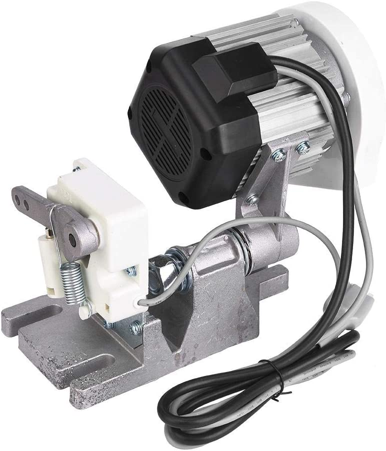 【Cadeau d'Avril】Motor, Pieza de máquina de Coser con Aguja de Parada automática, madeja Artesanal Ajustable continuamente de bajo Ruido(220V, European Standard)