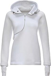 premium selection ae2cf b65fd Amazon.it: Felpe Donna Bianche - FREDDY