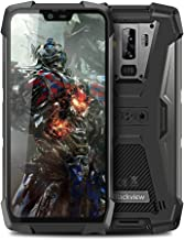 Unlocked Cell Phones, Blackview BV9700 Pro Rugged Smartphone, Android 9.0 Helio P70 5.84in 19:9 FHD Display, 6GB+128GB 4380mAh Battery, IP68/IP69K Waterproof, NFC Heart Rat Night Vision (Gray)