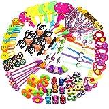 Amasawa 120 Piezas Juguetes de Fiesta a Granel,Party Favor Toy Assortment Kids Party Favor Birthday Party School Classroom Rewards CarnivalPrizes