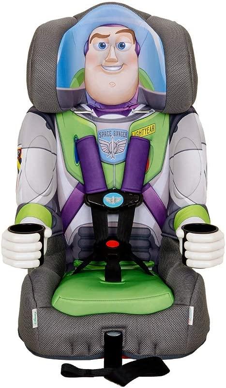 KidsEmbrace 2 In 1 Harness Booster Car Seat Disney Buzz Lightyear