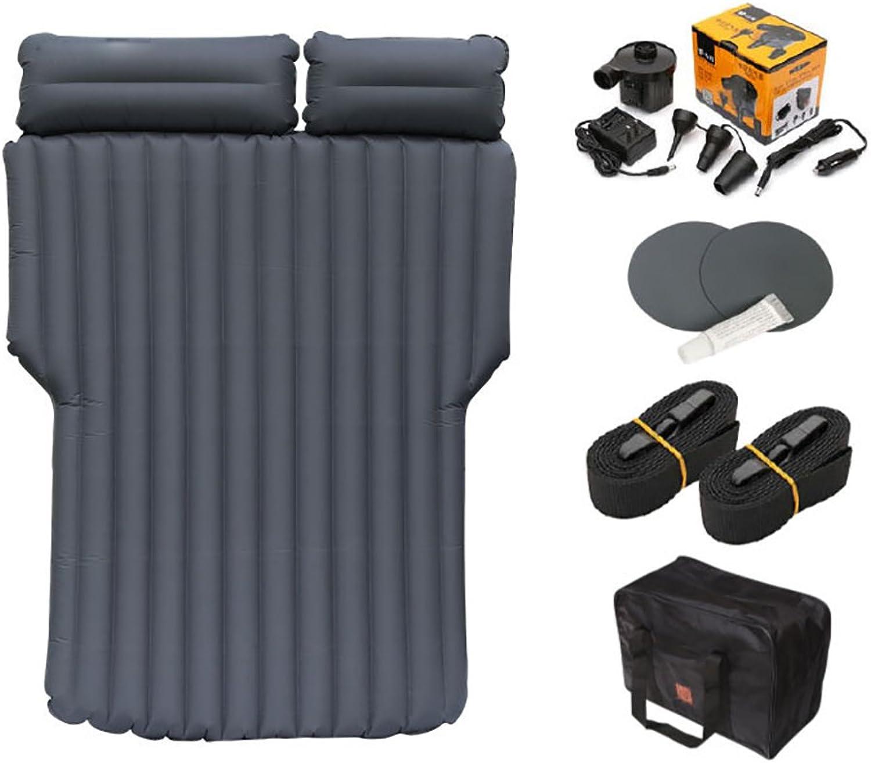 FJW Auto-Reise-Aufblasbare Matratze Luftbett Kissen Reise Camping Auto Familie Mit Zwei Luftkissen Luftpumpe Universal-SUV Erweiterte Luft Couch