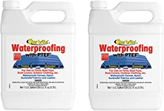 Star Brite 2 Pack 81900 Fabric Waterproofing w/PTEF Tent Boat Cover 2 Gal Total