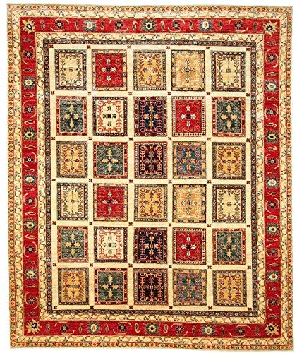 Nain Trading Arijana Bakhtiari 300x250 Orientteppich Teppich Rot Handgeknüpft Pakistan