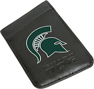 Guard Dog Michigan State Spartans Card Keeper/Card Holder Leather Phone Wallet with RFID Protection