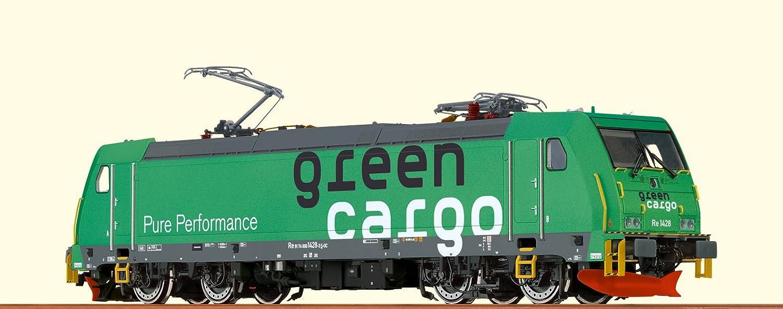 Brawa 43969 Elektrolokomotive TRAXX Re1428 der Grün Cargo B06XYM4V33 Großartig  | Quality First