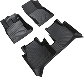 Floor Mats Liners Compatible for Sko-da Octavia/Rapid/Kamiq 2007 to 2021 Includes 1St & 2Nd Front Row And Rear Floor Liner...