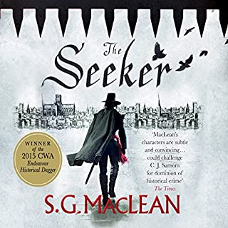 The Seeker     Damian Seeker 1              By:                                                                                                                                 S. G. MacLean                               Narrated by:                                                                                                                                 Nicholas Camm                      Length: 10 hrs and 22 mins     169 ratings     Overall 4.1