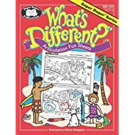 What's Different? Articulation Fun Sheets for 16 Sounds plus Blends Book (1996-05-03)
