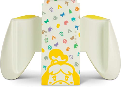 PowerA Joy-Con Comfort Grip for Nintendo Switch - Animal Crossing, Game Controller, Gamepad, Nintendo Switch Lite - N...