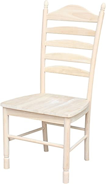 International Concepts Bedford Ladderback Chairs Set Of 2