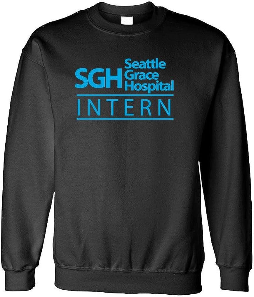 SEATTLE GRACE INTERN - hospital tv show - Fleece Sweatshirt
