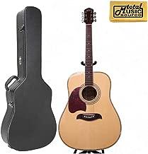 Oscar Schmidt LEFT HAND Dreadnought Acoustic Guitar, Spruce Top,w/Hard Case OG2NLH