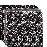 tiopeia 7 Stück 50 x 50cm Baumwollstoff Patchwork Stoffe